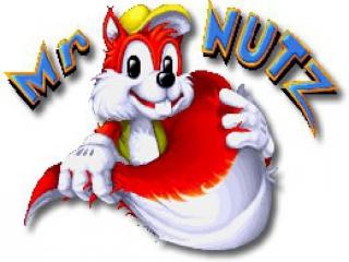 Speel als Mr. Nutz, een eekhoorn verzot op noten.