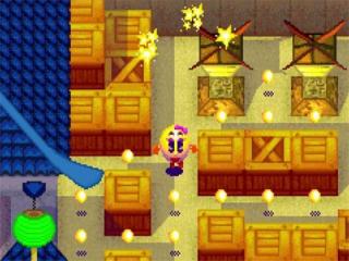 Het klassieke spel <a href = https://www.mariogba.nl/gameboy-advance-spel-info.php?t=Pac-Man target = _blank>Pac-Man</a> werd in een nieuw en origineel jasje gegoten.
