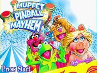 Alle flipperkasten in dit Muppets spel zijn in het thema van een pretpark!