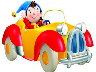 Speel als Noddy, een houten speelgoed poppetje uit Speelgoedland.