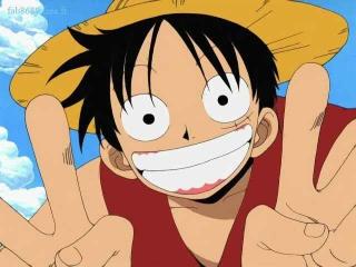Kruip in de huid van Monkey D. Luffy.