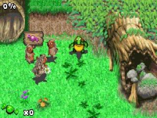 Ga op zoek naar je vrienden en red het bos, maar kijk uit voor de vreselijke verdelger.