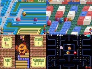 Speel verschillende <a href = https://www.mariogba.nl/gameboy-advance-spel-info.php?t=Pac-Man_Special_Color_Edition target = _blank>Pac Man</a> spellen.