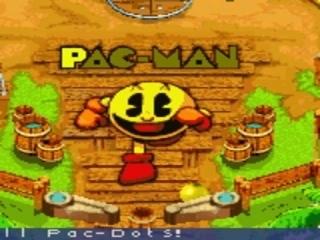 Speel met <a href = https://www.mariogba.nl/gameboy-advance-spel-info.php?t=Pac-Man target = _blank>Pac-man</a>, nu als Pinball.
