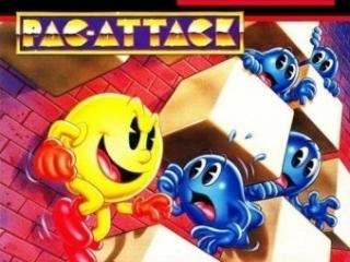 Pac-Attack is ook uitgebracht op de Super Nintendo en zit verwerkt in deze GBA-game.