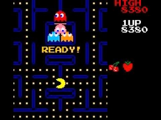 De klassieke arcade PaC-Man game is super verslavend!