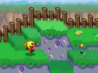 <a href = https://www.mariogba.nl/gameboy-advance-spel-info.php?t=Pac-Man target = _blank>Pac-Man</a> rent vrolijk door de weide. Hij is klaar voor het nieuwe avontuur!