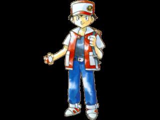 Dit is Red. (Veel mensen noemen hem ook Ash vanwegen de Tv-Serie.) Hij is de eerste avonturier van Pokemon.