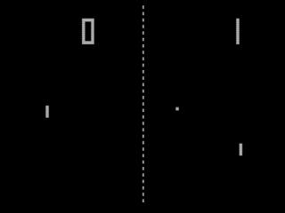 Speel bijvoorbeeld de klassieke game Pong op je Game Boy Advance!