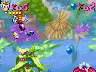 Rayman 10th Anniversary: Screenshot