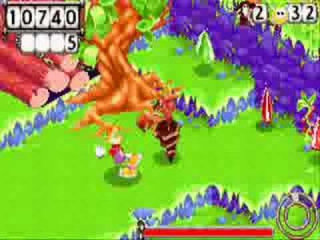 Rayman Hoodlums Revenge: Screenshot