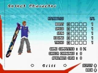 SSX 3: Afbeelding met speelbare characters
