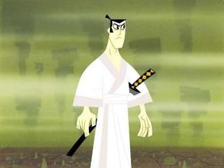Speel met Samurai Jack en snij je vijanden in stukjes sushi.
