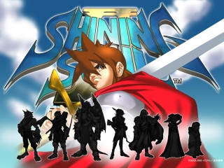 Shining Soul II: Afbeelding met speelbare characters