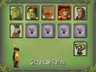 Het spel bevat herkenbare personages uit Shrek, er worden zelfs meer ontgrendeld door de voortgang van het spel.