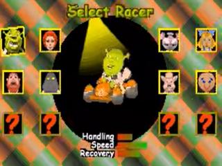 Race als een van de bekende personages uit de film Shrek!