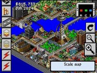 Sim City tovert leuke kleurrijke graphics uit je GBA!