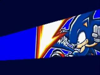 Sonic, Knuckles en Tails zijn er alledrie bij in dit unieke spel.