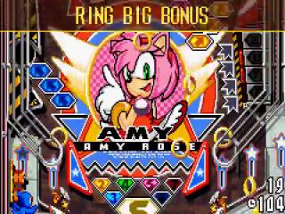 Naast Sonic zijn er ook een heleboel vrienden van de partij, zoals Amy, NiGHTS en Amigo.