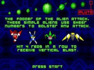 Het klassieke Arcade-spel Space Invaders maakt zijn comeback op de <a href = https://www.mariogba.nl/gameboy-advance-spel-info.php?t=Game_Boy_Advance target = _blank>Gameboy Advance</a>!