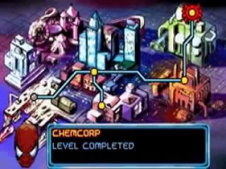 Wanneer je een level hebt uitgespeeld, kan je via de kaart naar een nieuwe locatie gaan.