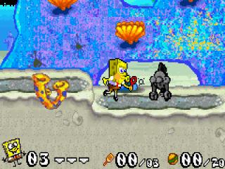 De <a href = https://www.mariogba.nl/gameboy-advance-spel-info.php?t=Game_Boy_Advance target = _blank>Game Boy Advance</a>-versie is een 2D-platformgame met vier hoofdstukken, elk met zeven niveaus, die allemaal hun eigen unieke puzzels hebben.
