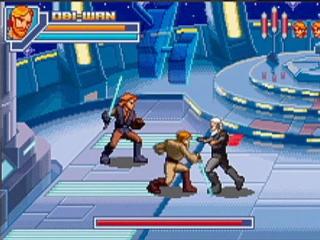 In multiplayer modus neem je het op tegen Darth Vader en andere uitdagende vijanden!