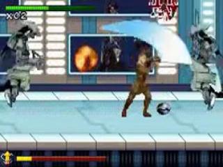 Met een lightsaber is het fijnhakken van tegenstanders echt een koud kunstje!