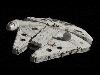 Speel met het bekendste ruimteschip uit het Star Wars universum: De Millennium Falcon.