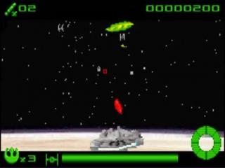 Het spel doet denken aan <a href = https://www.mariogba.nl/gameboy-advance-spel-info.php?t=Space_Invaders target = _blank>Space Invaders</a>, maar dan in 3D.