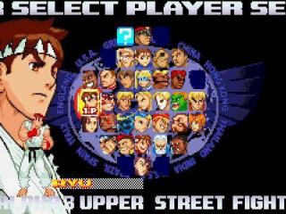 In Street Fighter Alpha 3 heb je de keuze om te spelen met wel 36 personages!