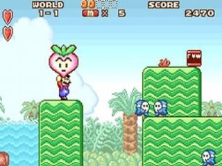 Mario is recht voor zijn raap...of onder de raap?