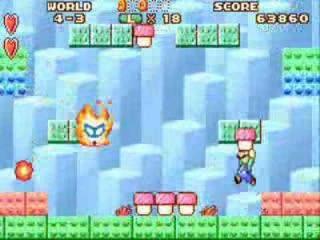 In dit spel moet je voorwerpen oppakken om naar vijanden te gooien en ze zo te verslaan.