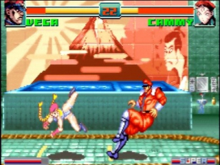 Super Street Fighter II Turbo Revival: Screenshot