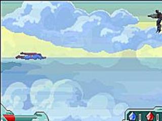 Is hij nu aan het vliegen of aan het zwemmen?