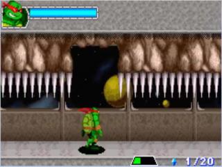 Speel als je favoriete groene held, maar let op voor de valstrikken, zoals dit beweeglijke plafond.