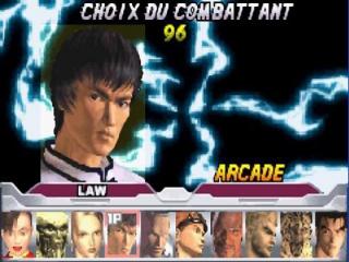kies uit een heleboel Tekken vechters.