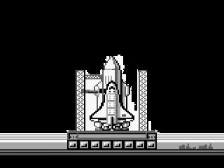 Bij een zeer hoge score krijg je misschien de lancering van de Space Shuttle te zien.