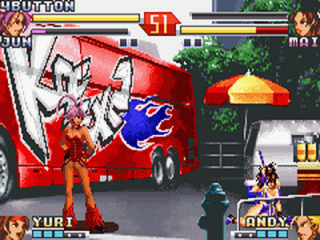 The King of Fighters EX2 Howling Blood: Screenshot