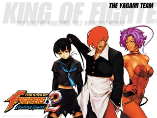 afbeeldingen voor The King of Fighters EX2: Howling Blood