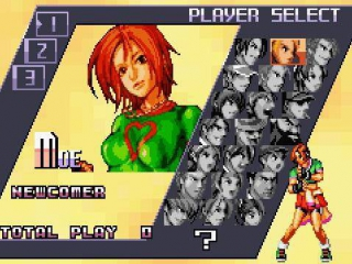Lijkt me eerder the Queen of Fighters.