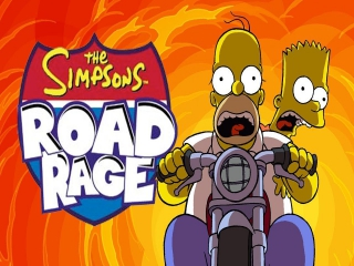 The Simpsons Road Rage: Afbeelding met speelbare characters