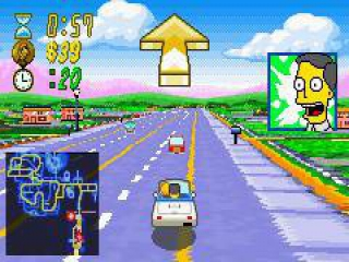 The Simpsons Road Rage plaatjes