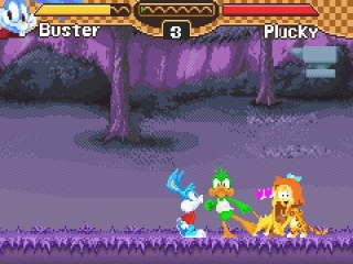 Tiny Toon Adventures Busters Bad Dream: Screenshot
