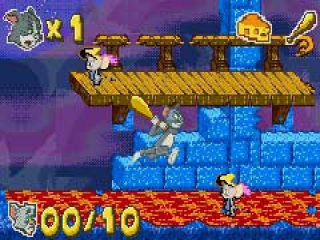 Tom and Jerry in Infurnal Escape: Screenshot