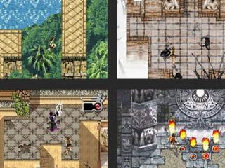 Dit spel bevat uiteeinlopende avontuurlijke levels.