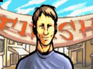 In deze Downhill Jam neem je de rol aan van Tony Hawk of een van de 9 andere skaters.