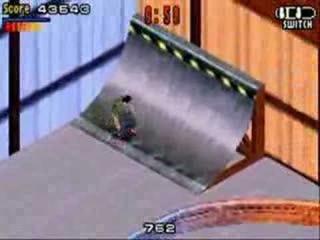 In deze versie kijk je van boven naar je skater in plaats van langs achter!