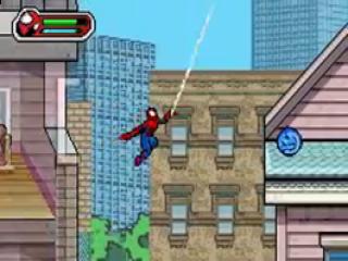 Gebruik je webvloeistof om van gebouw naar gebouw te slingeren.