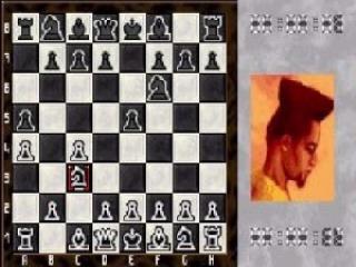 Hij speelde zo vaak schaken dat hij op een pion begon te lijken.